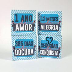 No post de hoje trouxe um kit de lembranças para os aniversariantes de Amor!♥ A ideia é: Você vai presentear com 4 caixinhas.  Uma delas…