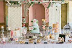 an opulent dessert table design #desserttables #desserttableideas #weddingdesserts