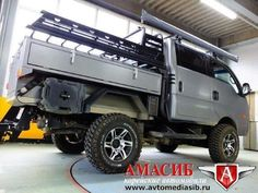 Kia Bongo III с внедорожн. тюнингом - Kia Bongo III, 2014 - Грузовики в Новосибирске