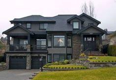 ✔ 52 most popular modern dream house exterior design ideas 23 > Fieltro. Dream Home Design, Modern House Design, My Dream Home, Dream House Exterior, Dream House Plans, House Ideas Exterior, Black Trim Exterior House, Big Houses Exterior, Modern Exterior