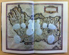 Maps and Power: Irlandae regnum rorschach, 2015. AD. Miliaria Ibernica