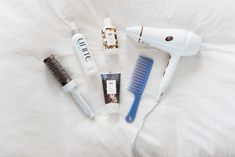 Bows & Sequins shares her must-have products for an at-home blowout: Round Brush, Unite 7 Seconds Leave-In Conditioner, R + Co Jackpot Styling Creme, R + Co Park Avenue Blowout Balm, & a powerful blow dryer! Hair Wand, Wand Curls, Wand Hairstyles, 7 Seconds, Get Loose, Chocolate Brown Hair, Round Brush, Air Dry Hair, Texturizing Spray