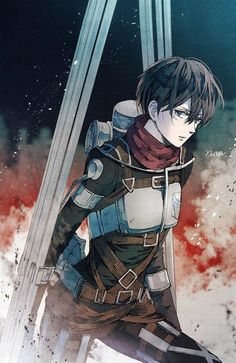 Eren Aot, Eren And Mikasa, Attack On Titan Eren, Attack On Titan Fanart, 5 Anime, Anime Art, Morgana League Of Legends, Attack On Titan Aesthetic, Tamako Love Story