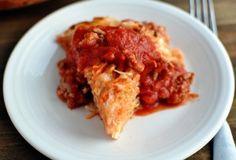 Spaghetti Pie {My Family's Favorite Dinner}