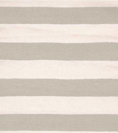 MASINFINITO CASA - Alfombra Dash & Albert Catamaran Stripe Platinum, Ivory - Interiores / Exteriores