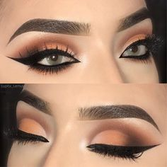 WEBSTA @lupita_lemus Good morning my beautiful followers❤️ Have a very blessed day! . . @morphebrushes 35OM palette and the black eyeshadow from the 35O2 . . @anastasiabeverlyhills