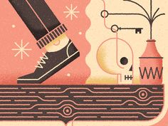 Crop from a series of illustrations we worked on recently.
