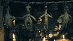 Buy Area Ritual with Voodoo Dolls by on VideoHive. area ritual with the voodoo doll Voodoo Rituals, Voodoo Dolls, Occult, Witchcraft, Horror, Religion, Candle, Skull, Magic