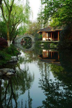 Moon Bridge, Hangzhou, China