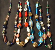 'Vintage Strands of Beads' is going up for auction at  4pm Sun, Oct 28 with a starting bid of $5.