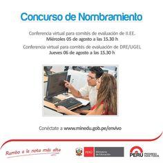 Teresa Clotilde Ojeda Sánchez: Videoconferencia de capacitación para miembros del...
