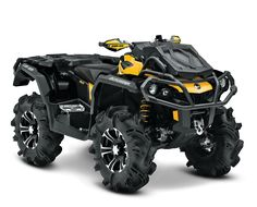 The Mud-Riding ATV: Can-Am Outlander X mr   Can-Am Off-Road US
