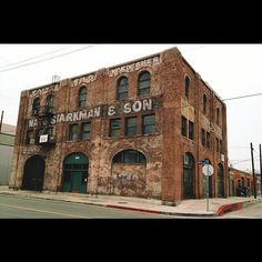 Old warehouse in the Arts District, downtown Los Angeles. Edit: Just realized its also the exterior location for Paddy's Pub (doubling for Philly) in one of my favorite tv shows, It's Always Sunny in...