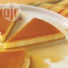 Pudim de leite com calda de caramelo @ allrecipes.com.br