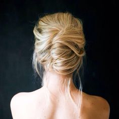 Beautiful updo for the modern bride.