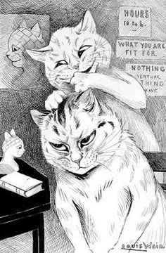 phrenology | Louis Wain