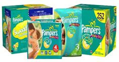 HOT! High Value Pampers Coupon - Save up to $4 + Deals at Walgreens, Kmart & More! - http://www.livingrichwithcoupons.com/2014/02/hot-high-value-pampers-coupon-save-4.html
