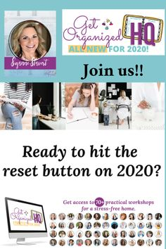 A Positive Reset for 2020 and My New E-Book To Help You THRIVE! Practical Action, Emotionally Exhausted, Get Your Life, Personal Goals, Life Organization, Stress Free, New Friends, Flourish, Getting Organized