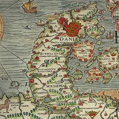 Nordic Thoughts Carta Marina - Dannevirke by Olaus Magnus, 1572 Gorm the Old and Thyra - and good old Denmark http://nordic-aputsiaq.blogspot.dk/search?updated-max=2014-07-02T06:09:00%2B02:00&max-results=30&start=49&by-date=false