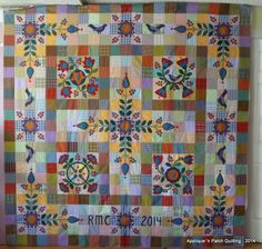 Applique 'n Patch Quilting: Promise of Spring