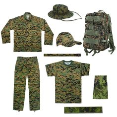 Cadet Corp 9pc Basic Issue Pack - Click Image to Close