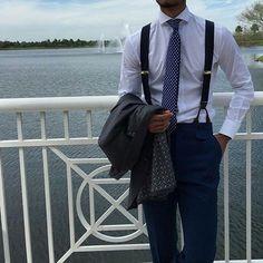 My Dapper Self — A little suspenders/braces motivation for a dapper...