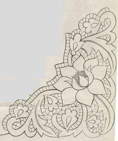 Rezultat slika za embroidery mandala shemes corner