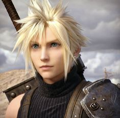 Final Fantasy Cloud, Final Fantasy Vii Remake, Fantasy Art, Sora Kingdom Hearts, Cloud Strife, Animal Crossing, Finals, Fangirl, Clouds