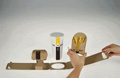Innovative fast food packaging…