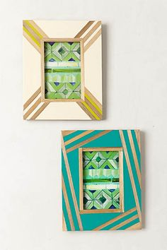 Bamboo Inlay Gallery Frame