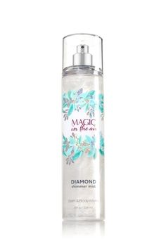 Magic in the Air - Diamond Shimmer Mist - Signature Collection - Bath & Body Works - Dazzle with diamonds! Infused with beautiful shimmer, our luxurious Diamond Shimmer Mist kisses skin with irresistible scent and gorgeous sparkle for our most glamorous way to fragrance.