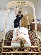 Ashiatsu Oriental Bar Therapy Barefoot Massage - Hardee-Ashiatsu Barefoot Portable Bar System. ULTIMATE WISH LIST !!!!!!!!!!
