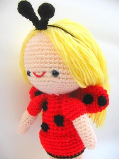 lady bug sofia amigurumi crochet - So cute for my Ladybug Girl fan