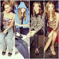 """ #chanel #valentino lily depp cara delevingne dasha zhukova chiara ferragni #event #celebrity #celebs #celebritystyle #celebritylook #fashionblogger…"""