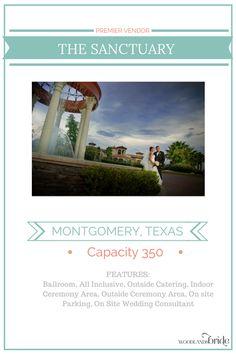 The Sanctuary - North Houston Wedding Venue Guide // WoodlandsBride.com
