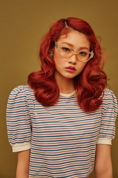 24f903666f35f Jung Ho Yeon by Shin Seon Hye for Singles Korea Mar 2017 Hair Reference