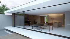 Piano house Mooie combinatie oversteken, glaswerk en hout. Hout werk van buiten naar binnen.