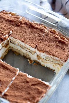 Easy Tiramisu recipe - Tastes Better From Scratch Fluff Desserts, Great Desserts, Köstliche Desserts, Delicious Desserts, Dessert Recipes, Yummy Food, Tiramisu Recipe No Eggs, Tiramisu Dessert, Tiramisu Recipe From Scratch