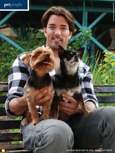 HGTV's Property Brothers star Jonathan Scott shares his blueprint for healthy pets and his love for his dogs, Stewie and Gracie, in this interview with fetch! magazine.