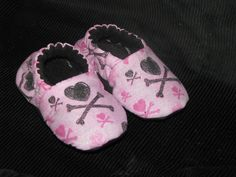 Punk Princess Shoopers Soft Shoes for Baby to Toddler 13. $15.00, via Etsy.