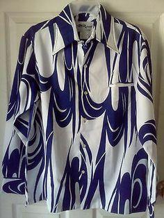 Vintage Tori Richard Honolulu Hawaiian Aloha Tropical Leaves Shirt