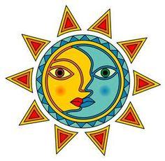 yin yang, sun and moon