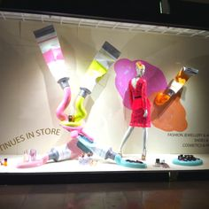 LK By Lincoln Keung: Harvey Nichols Visual Merchandising -- Pacific Place in Hong Kong