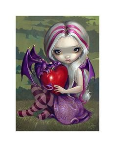 Dragon Art Prints Archives - Page 2 of 7 - Strangeling: The Art of Jasmine Becket-Griffith Dragon Heart, Dragon Girl, Butterfly Dragon, Kobold, Amy Brown, Fairy Pictures, Gothic Fairy, Love Fairy, Baby Fairy