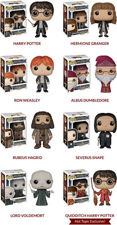 Harry Potter Funko Pop! Figures Exclusive Hot Topic Harry Potter Quidditch