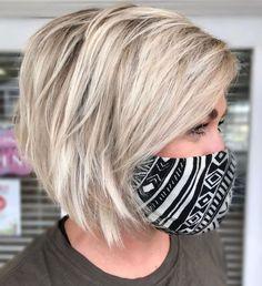 Thin Hair Cuts, Bobs For Thin Hair, Short Hair Cuts For Women, In Style Hair Cuts, Medium Thick Hair Cuts, Medium Bob Hair, Hair Cuts For Over 50, Short Hairstyles For Thick Hair, Short Thin Hair