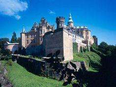 Frýdlant - zamek Albrechta Wallensteina, pierwowzoru hrabiego z kreskówek o Rumcajsie