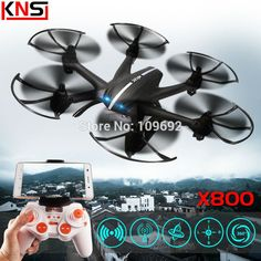 MJX X800 2.4G 4CH 6-Axis UAV Quadcopter RTF Drone RC Helicopter Can Add C4005 WIFI FPV Camera & C4002 VS H20 H107D