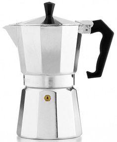 Cuban: Primula Aluminum 6 Cup Stovetop Espresso Maker