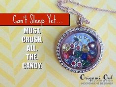 Can't stop playing #candycrush! #origamiowl #fashion #gift www.dollinevance.origamiowl.com